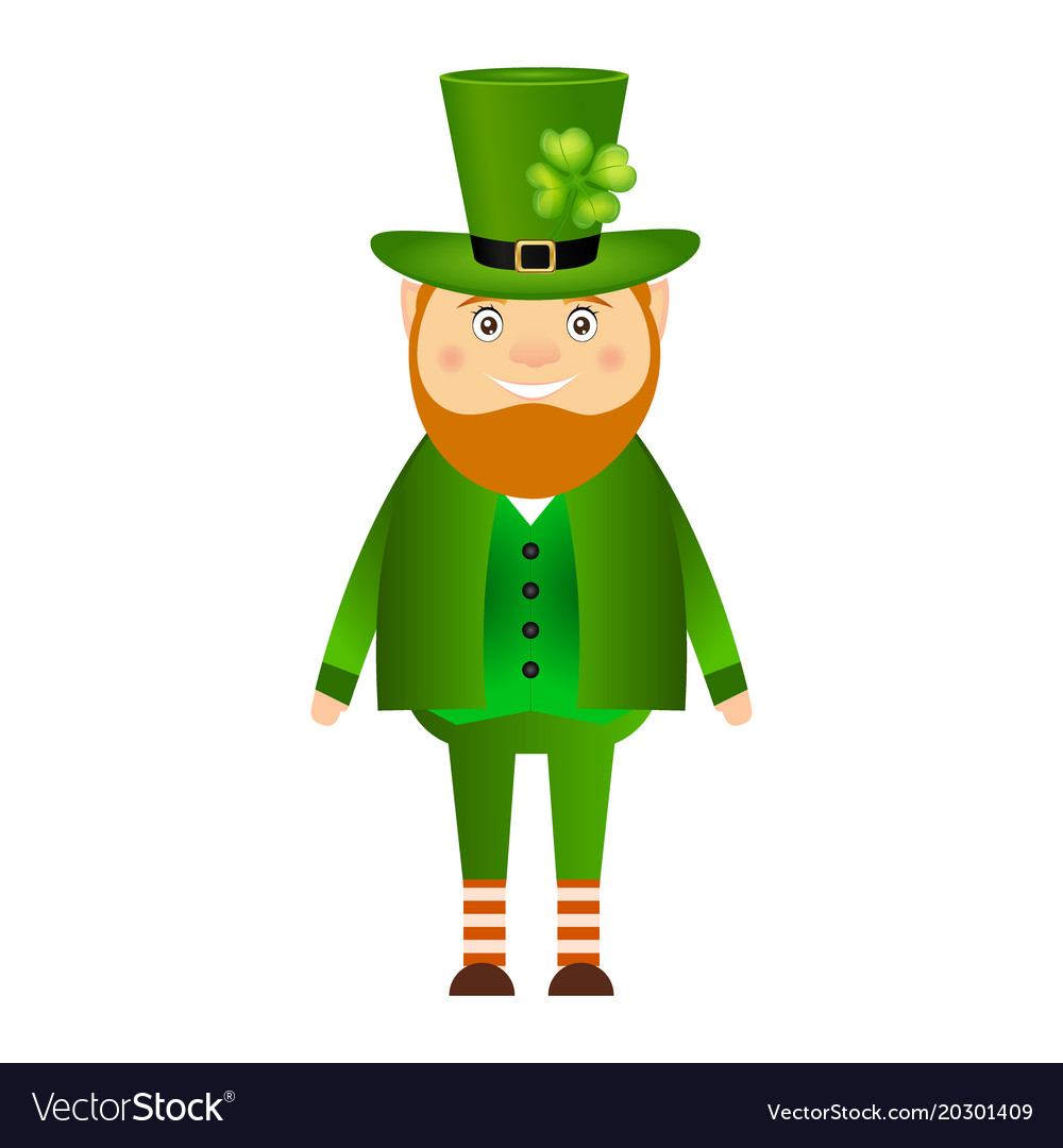 Funny Leprechaun For St Patrick Day Royalty Free Vector