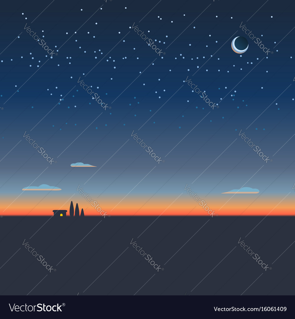 Sunrise background wallpaper vector image