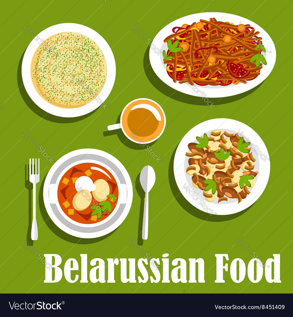 Belarusian cuisine: recipes. Dishes of national cuisine 35