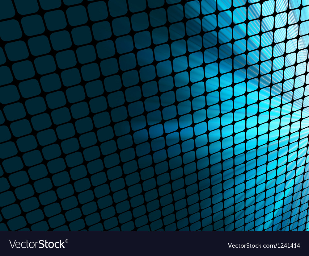 Abstract rays mosaic vector image