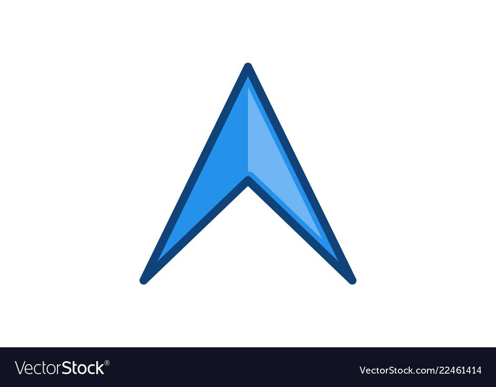 Arrow adventure map logo designs inspiration
