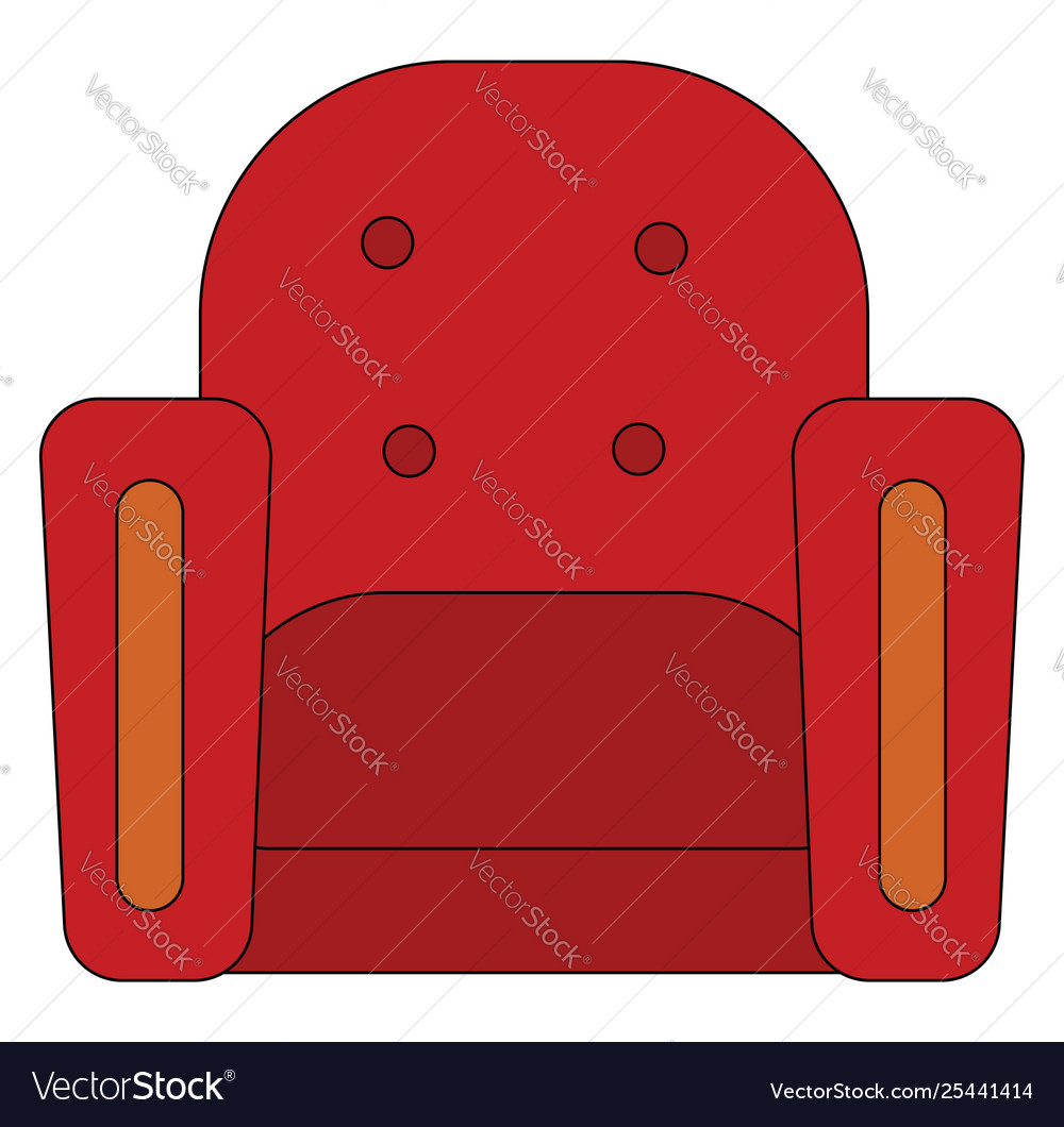Awesome Clipart Single Seater Red Arm Chair Or Home Interior And Landscaping Ologienasavecom