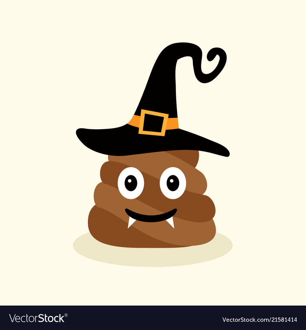 Halloween funny poop emotional shit icons