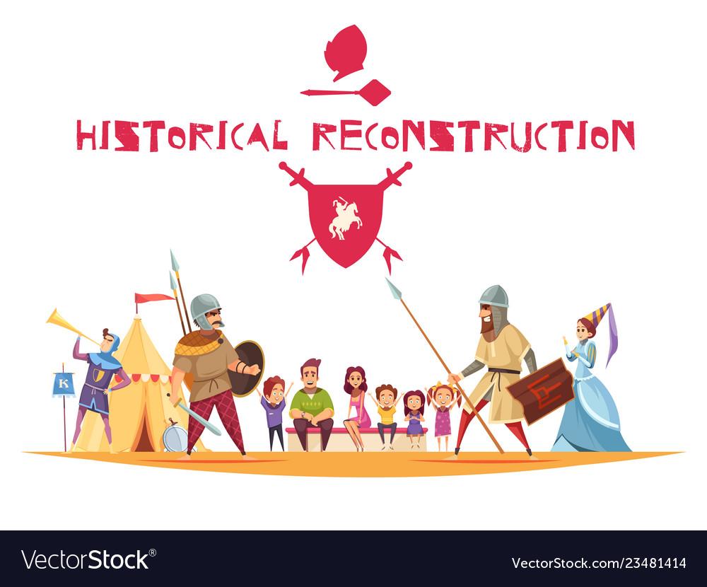 Historical reconstruction concept