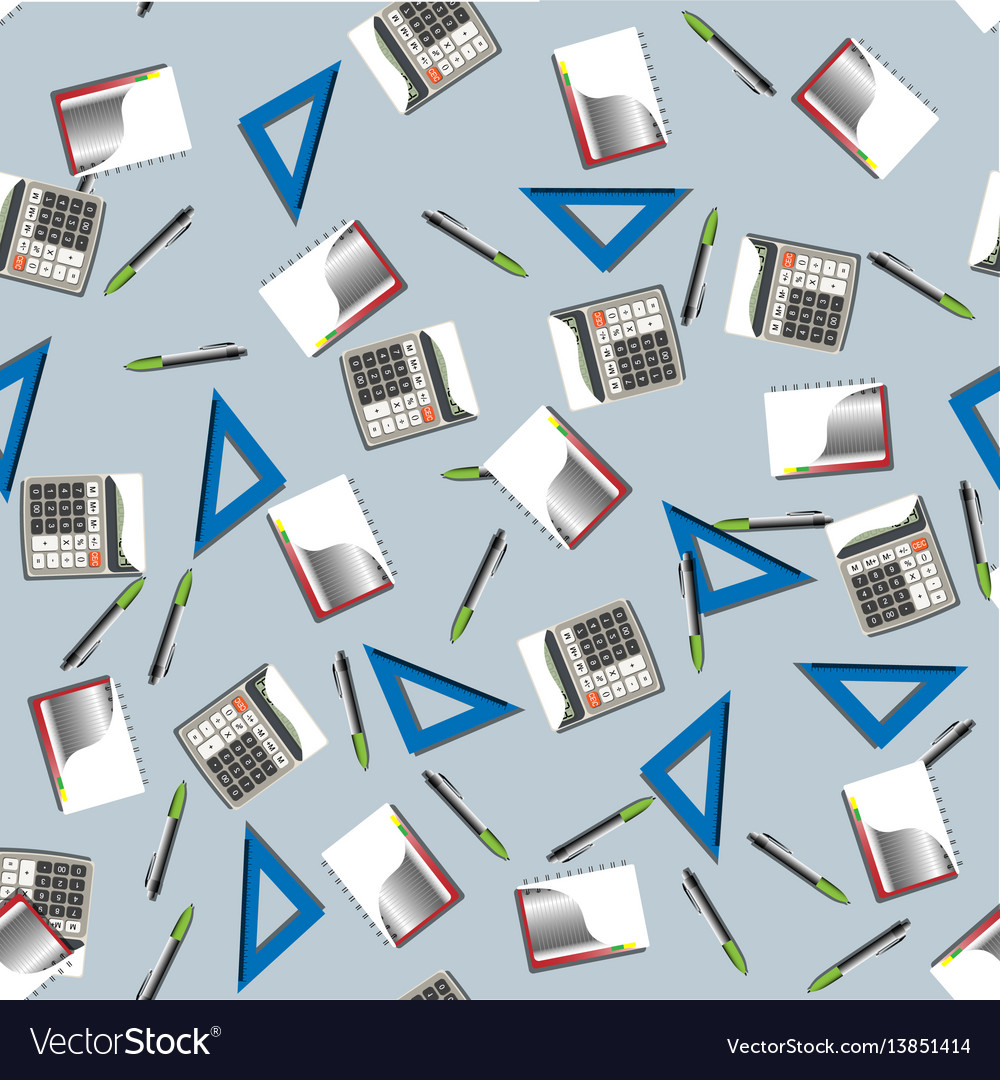 Office business seamless pattern