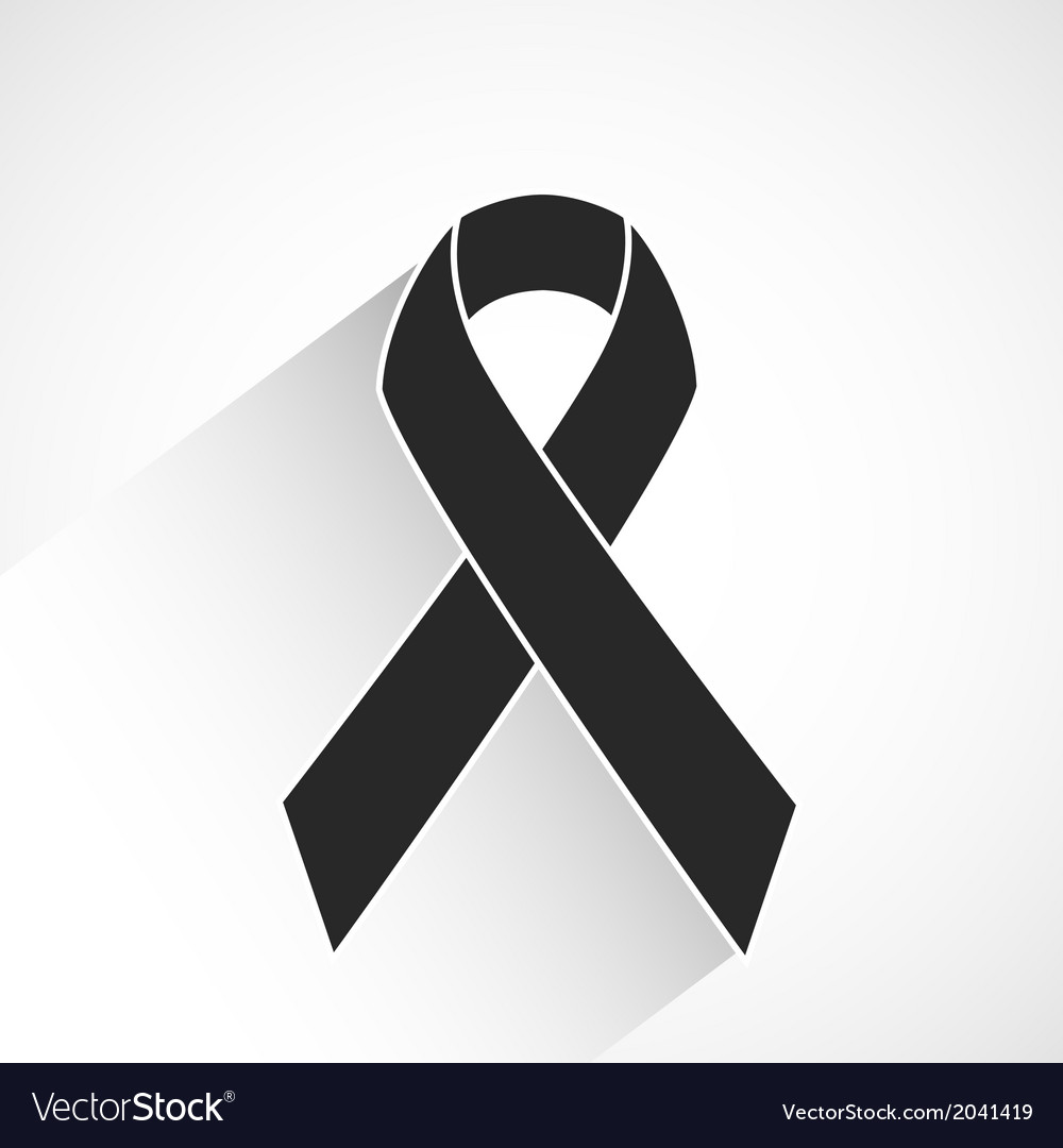 cancer awareness ribbon royalty free vector image rh vectorstock com vector cancer ribbon download vector cancer ribbon free