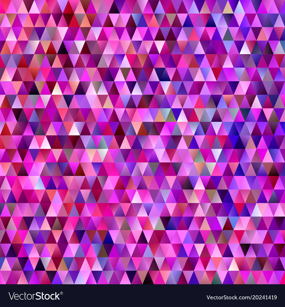 Geometric triangular polygon pattern background