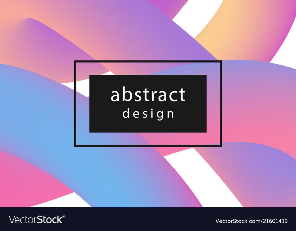 Modern futuristic cover banner template