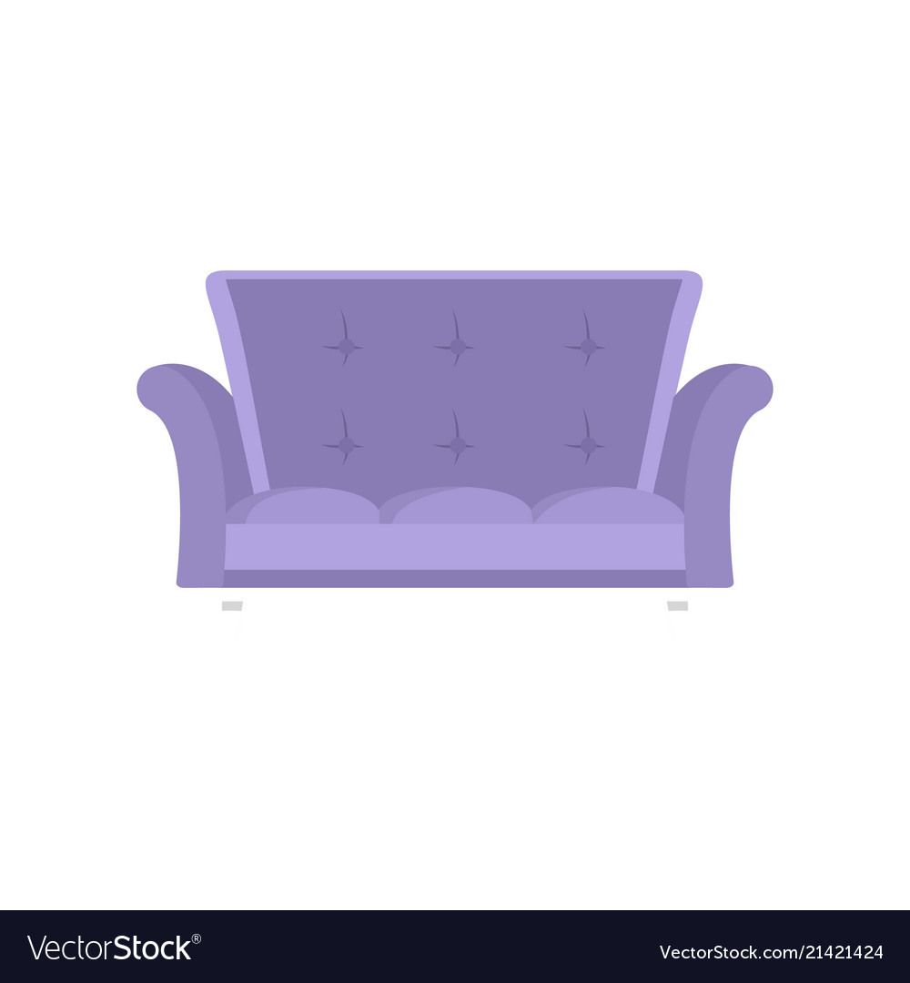 Icon Flat Style Royalty Free Vector Image