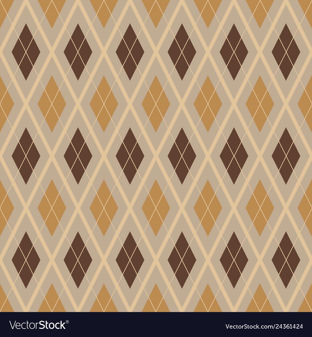 Diagonal rhombus seamless geometric pattern