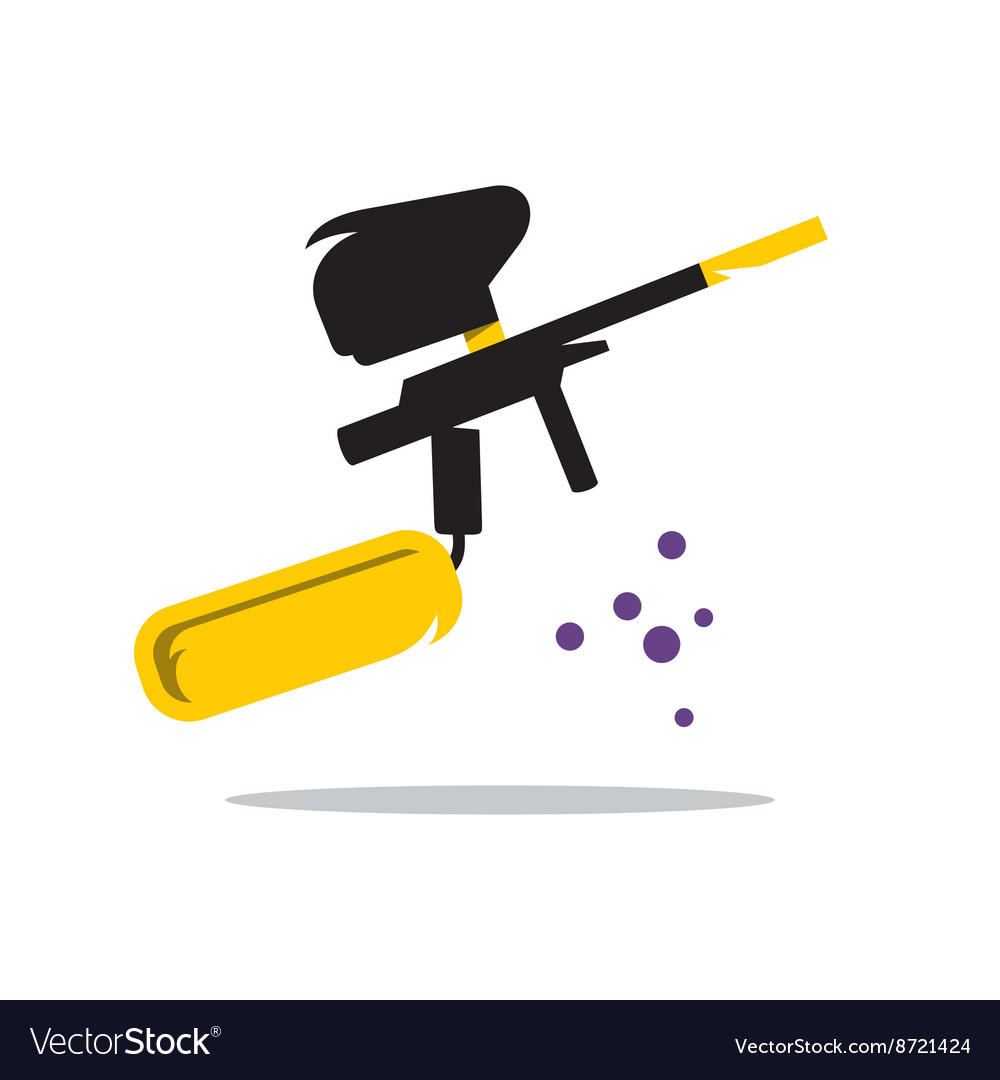Paintball Gun Cartoon