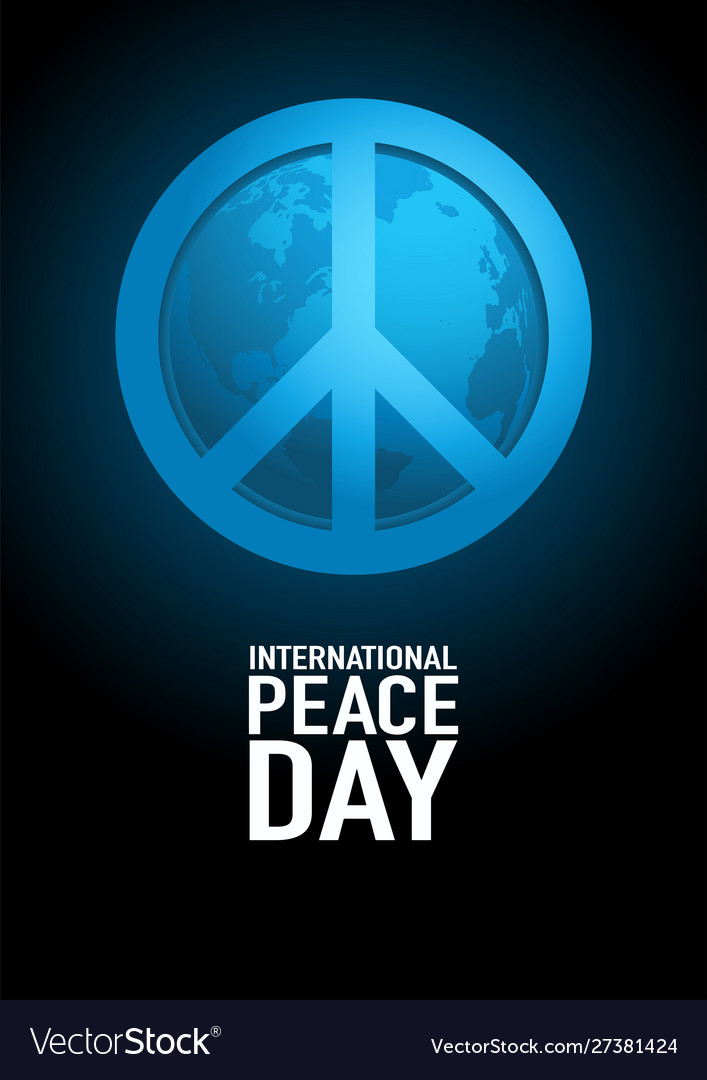 Poster design for international day peace