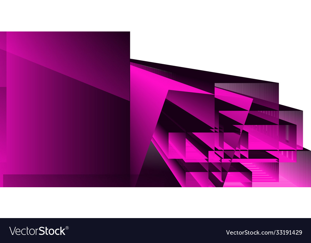 Abstract geometric background with shapes and