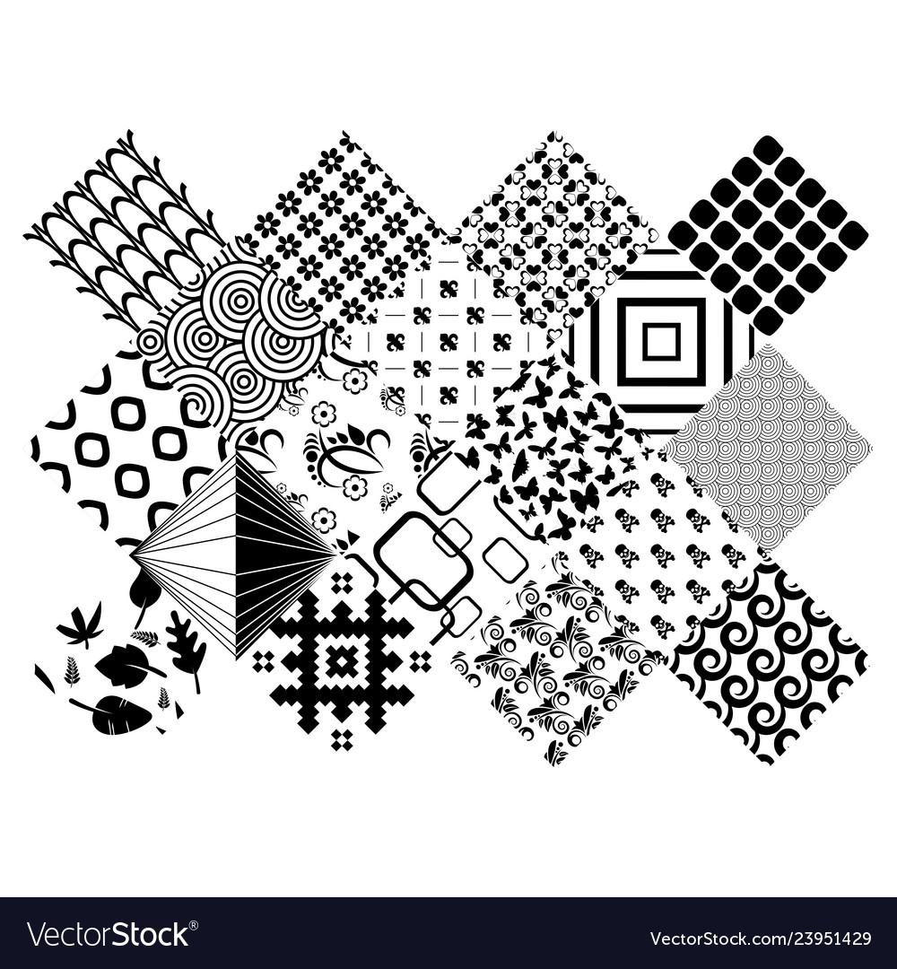 Zentangle elements set