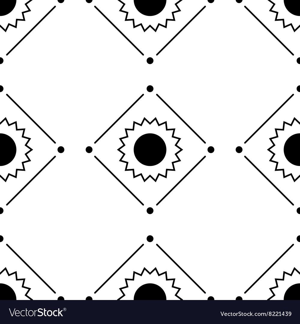Seamless patternRepeating geometric tiles