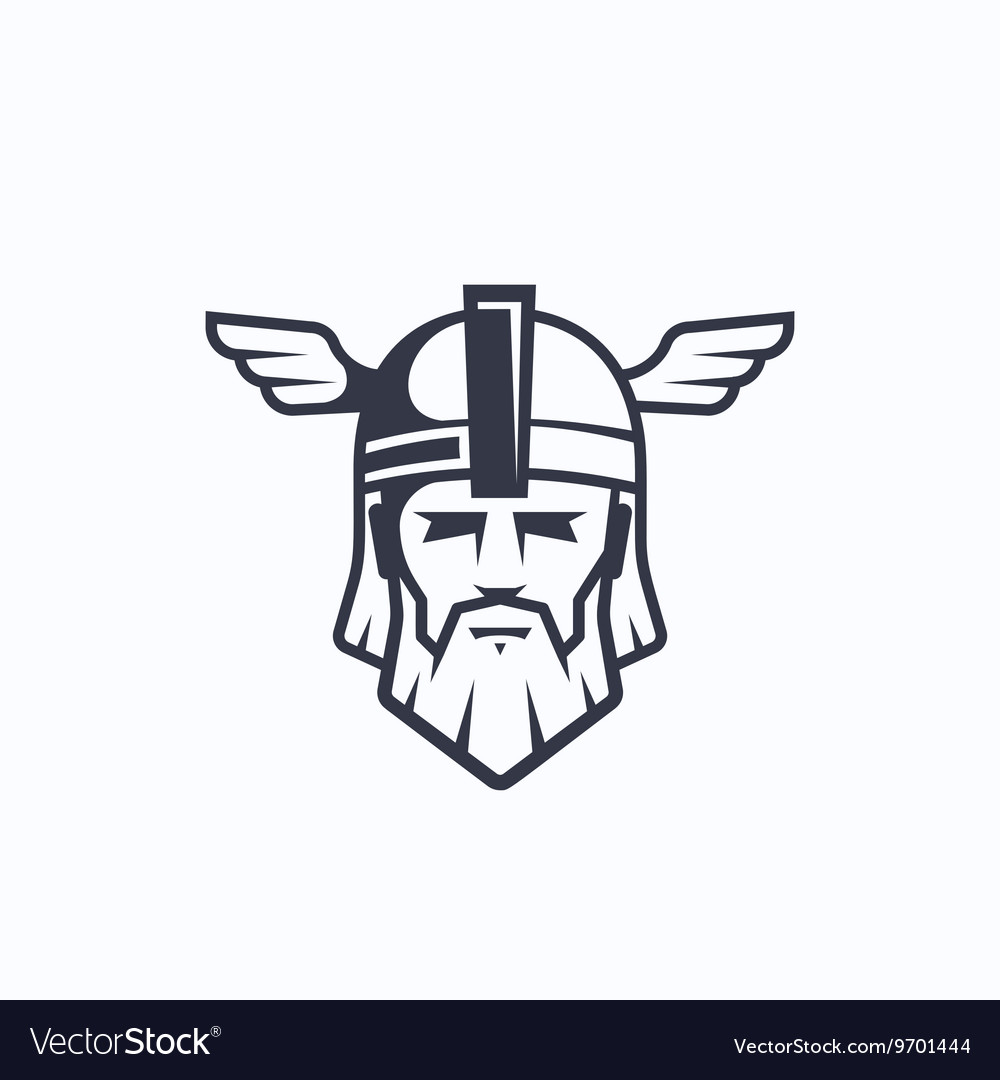 Odin Sport Team or League Logo Template Royalty Free Vector