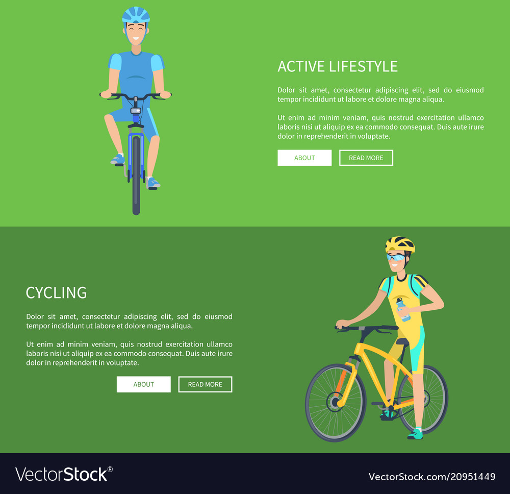 Cycling and active lifestyle