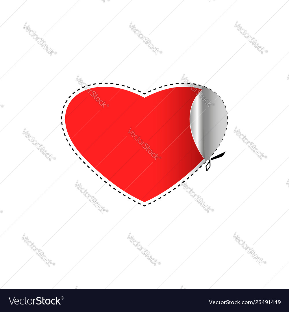 Happy valentine is day greeting card is a blank