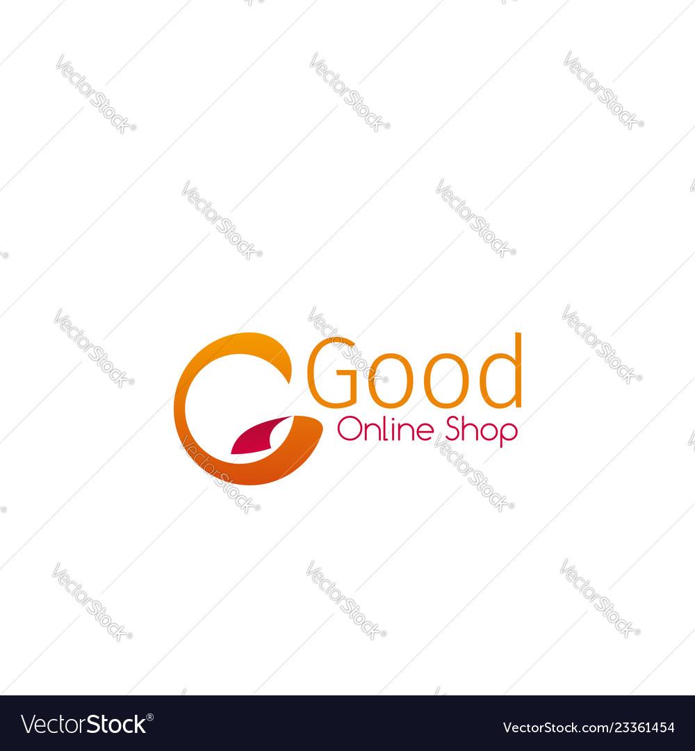 Emblem for online shop