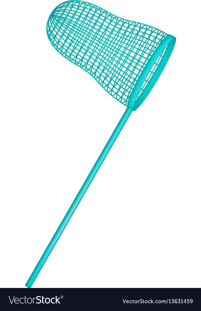 Net in turquoise design