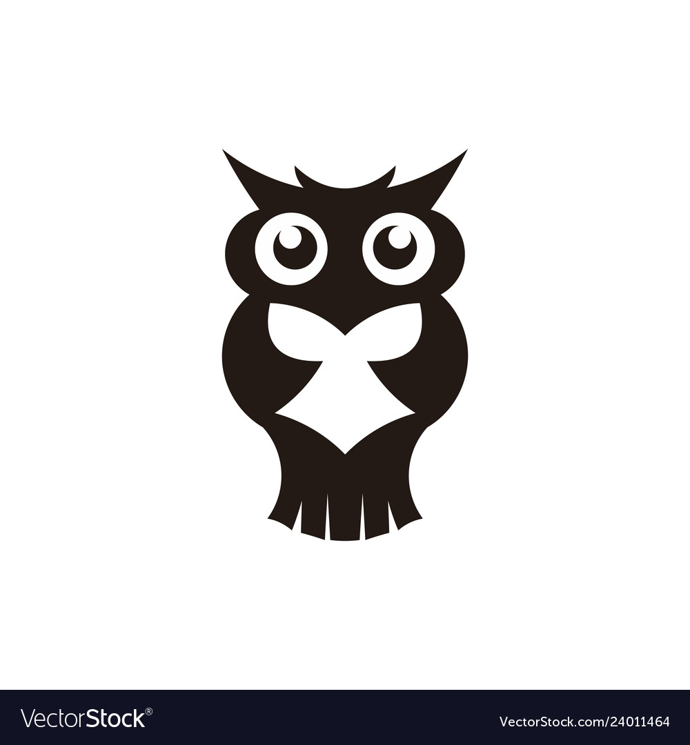 Wisdom concept owl with books in graduation cap