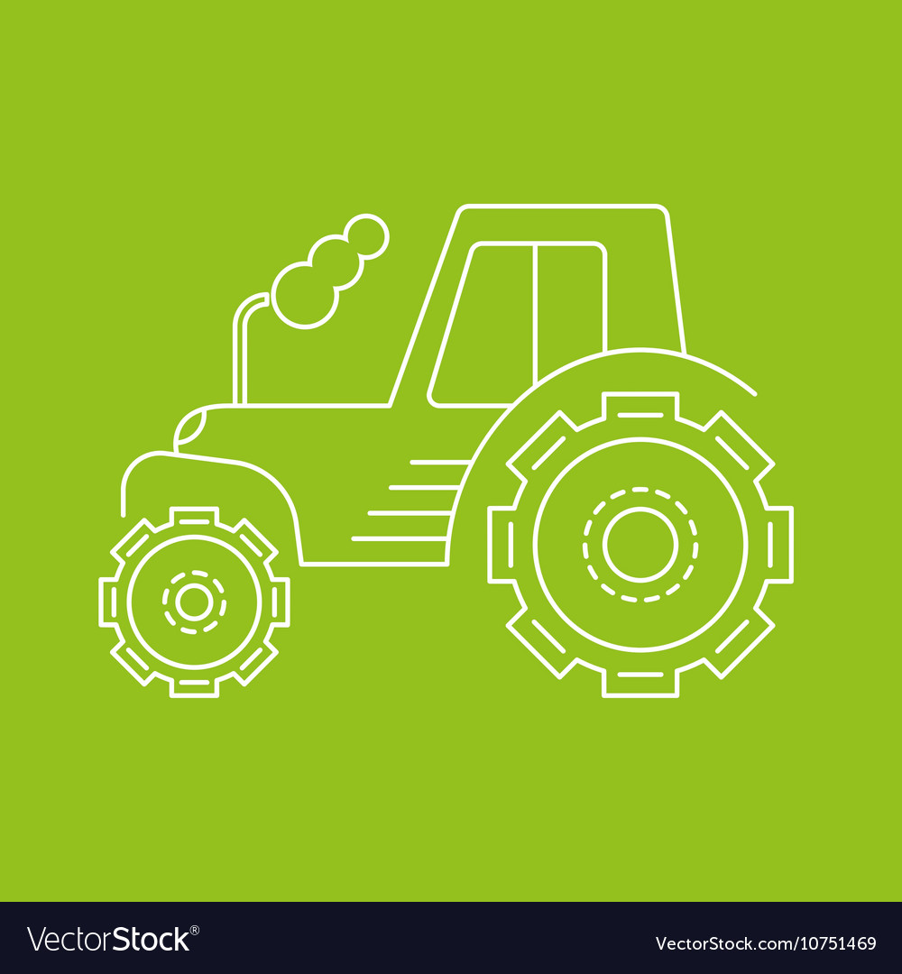 Icon or logo of the tractor