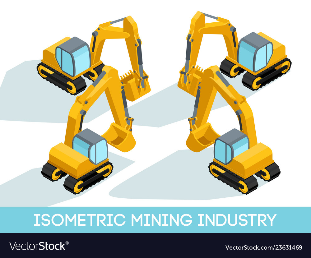 Isometric mining industry
