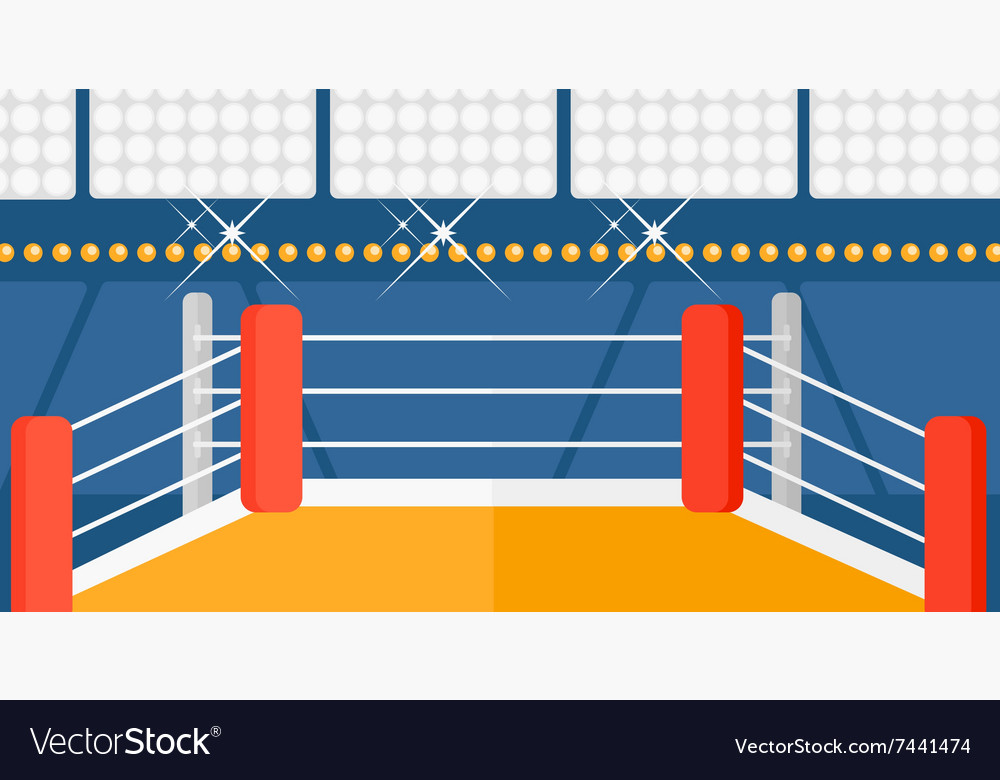 Background of boxing ring royalty free vector image background of boxing ring vector image ccuart Images