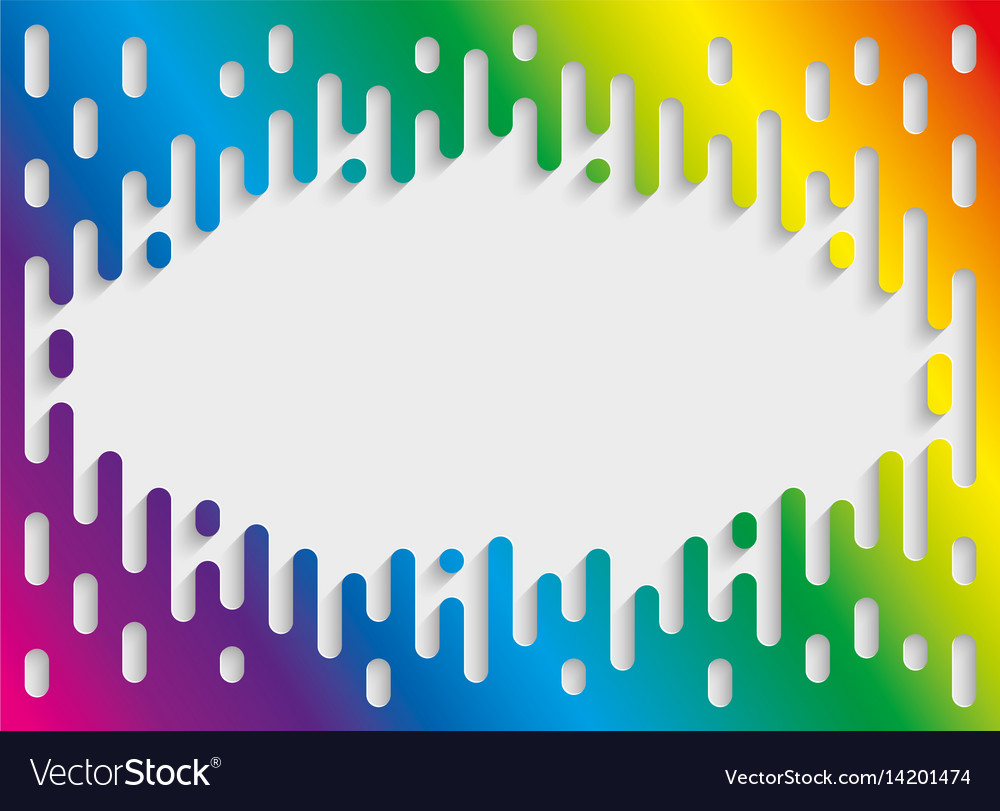 Colorful halftone transition background with vector image
