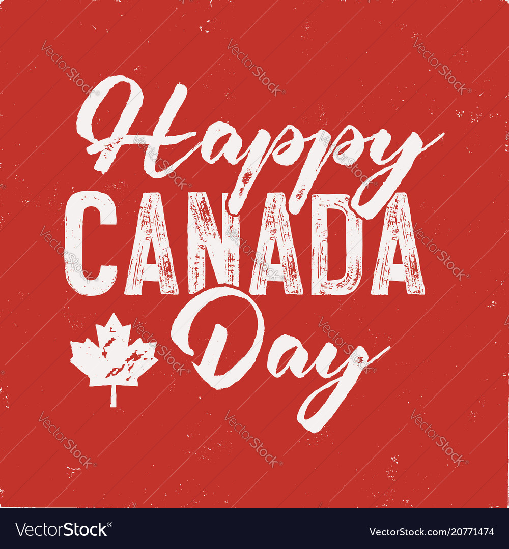 Happy canada day t-shirt for gift distressed