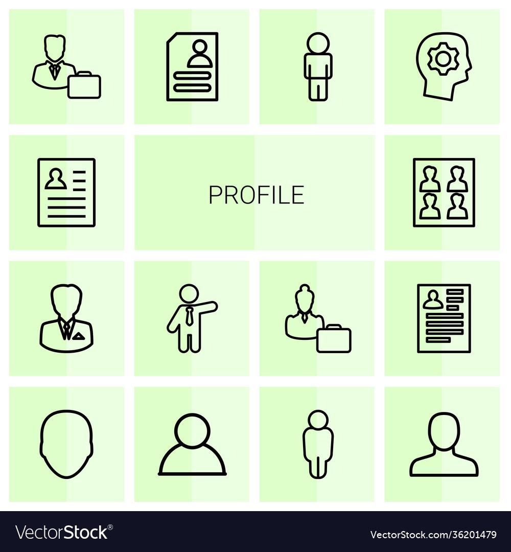 14 profile icons