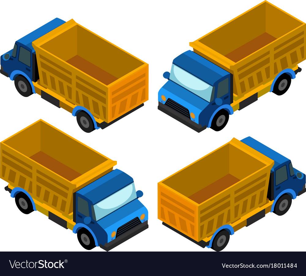 3d design for pickup truck