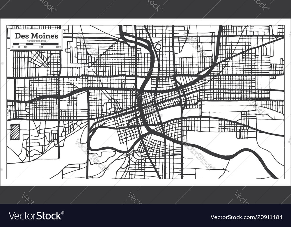 Des moines usa city map in retro style outline map on vancouver city map, wright county city map, okemah city map, dumas city map, duvall city map, bainbridge island city map, fife city map, pierre city map, newton city map, ferguson city map, council bluffs city limits map, grimes city map, lowell city map, clive city map, black hawk city map, st. louis city map, indianapolis city map, tulsa city map, minneapolis st paul city map, el paso city map,