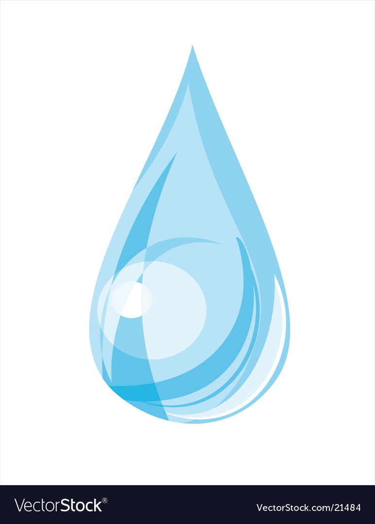 blood drop vector. water drop vector.