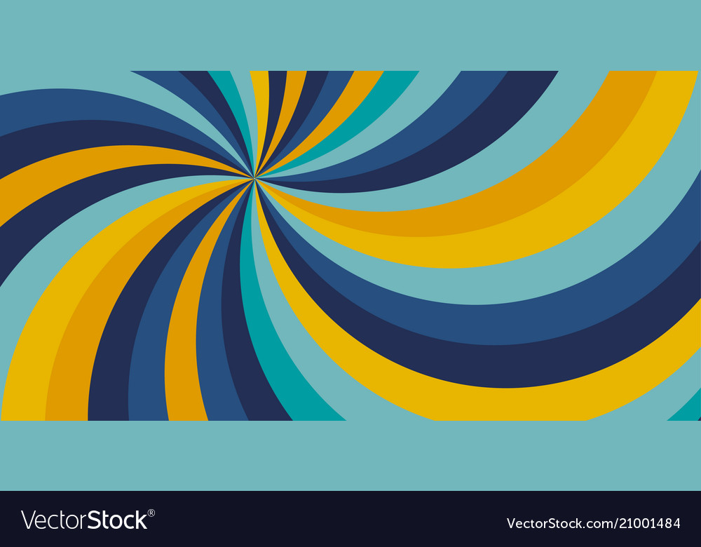 Yellow and blue color swirly background