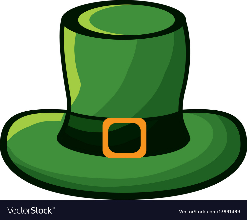 Sticker hat accessory st patrick