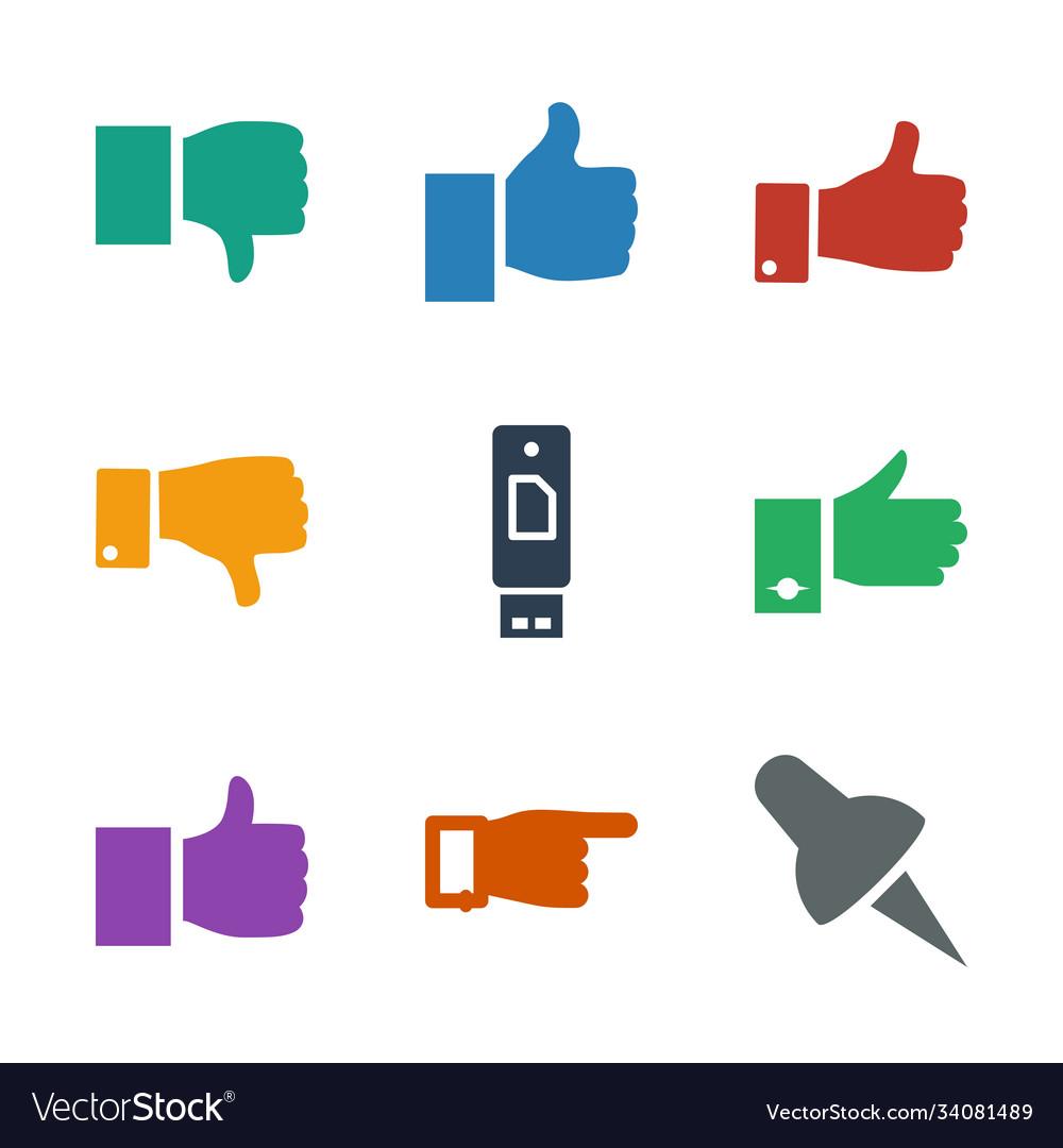 Thumb icons