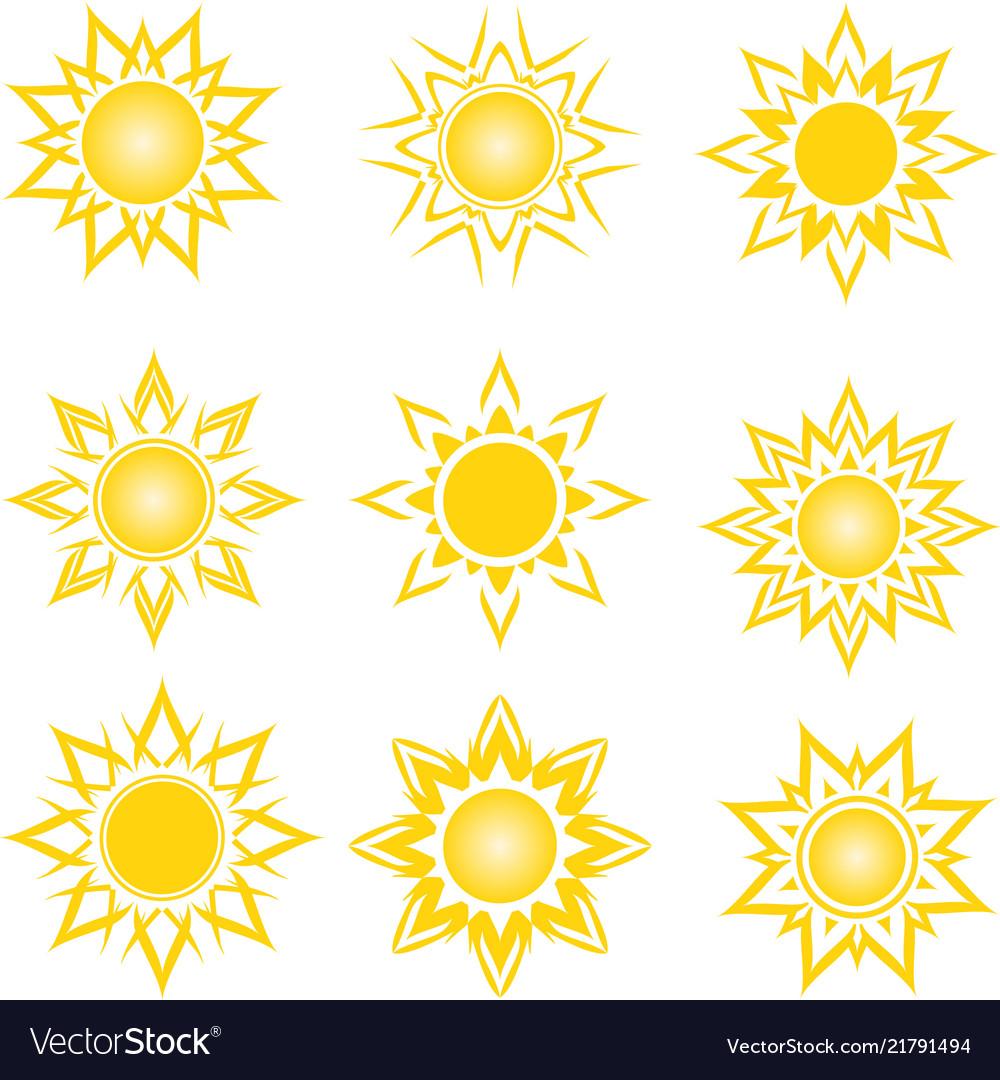 A set of an abstract suns