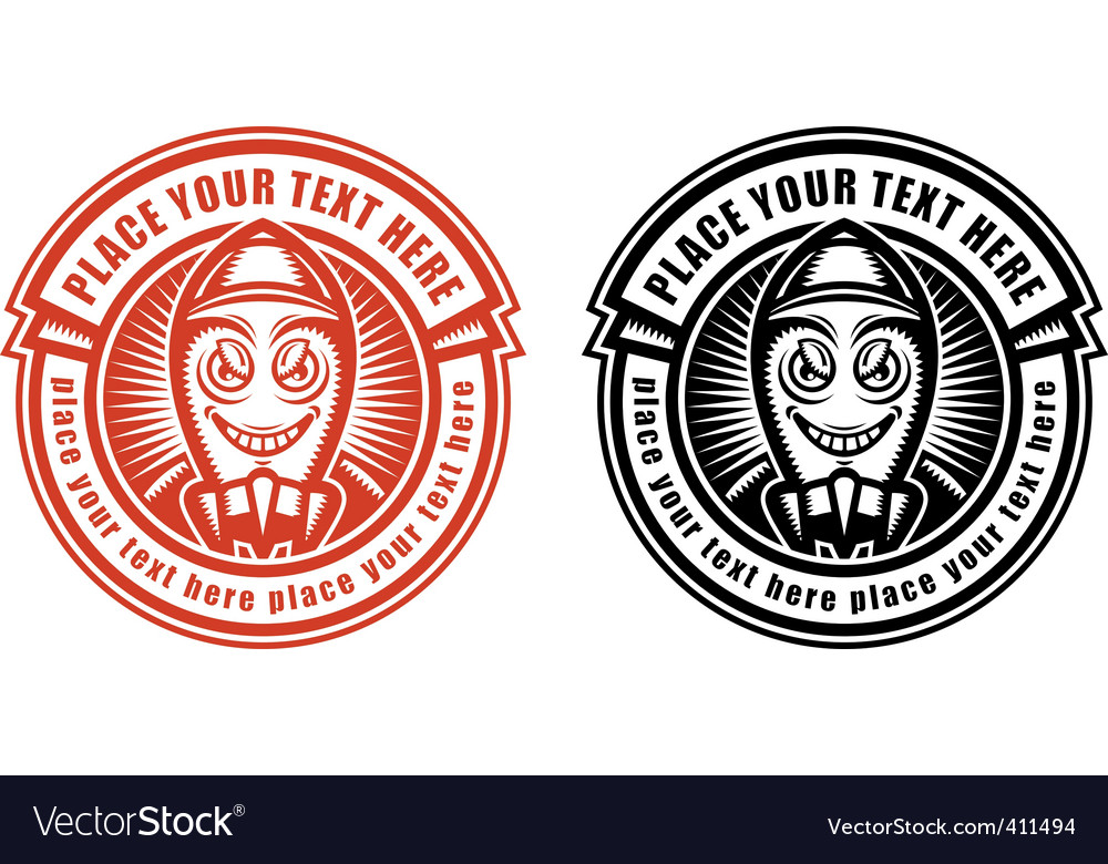 Label template Royalty Free Vector Image - VectorStock