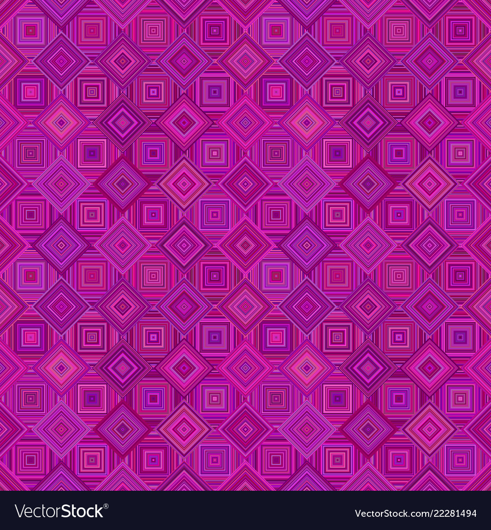 Purple abstract seamless diagonal square pattern