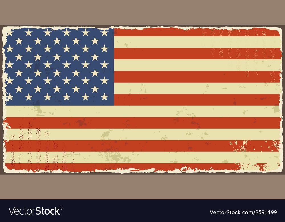 American grunge flags