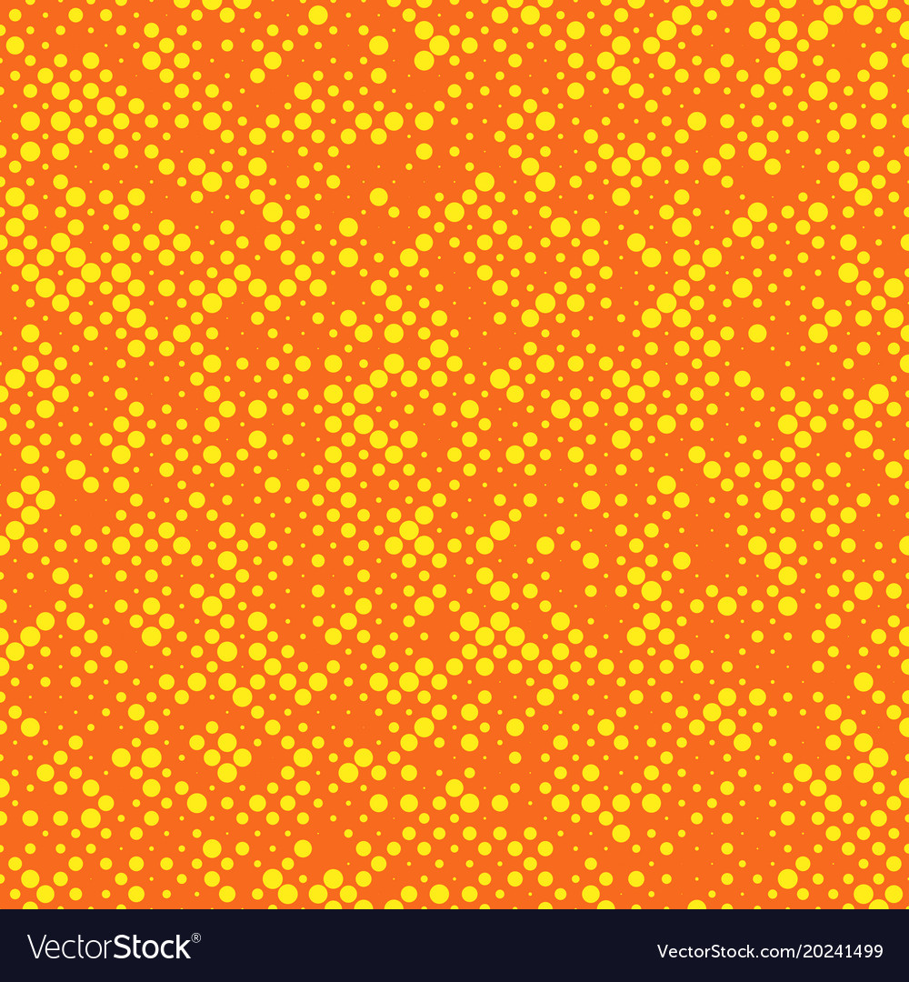 Chaotic abstract halftone circle pattern vector image