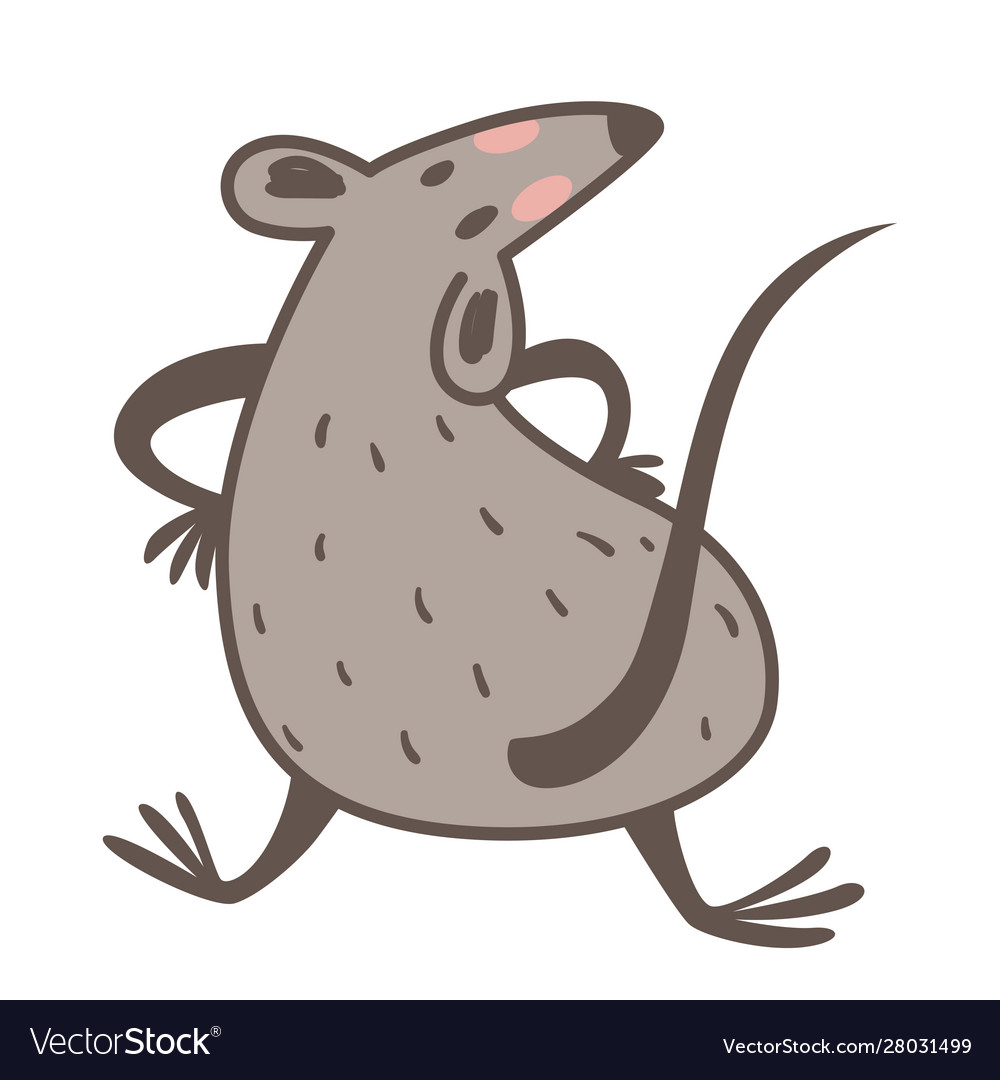 New Species 2020.Chinese Zodiac Animal Rat As 2020 New Year Symbol
