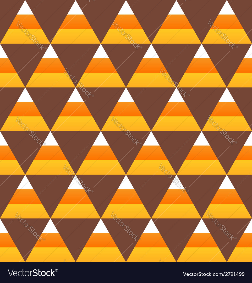 Halloween candy corn seamless pattern