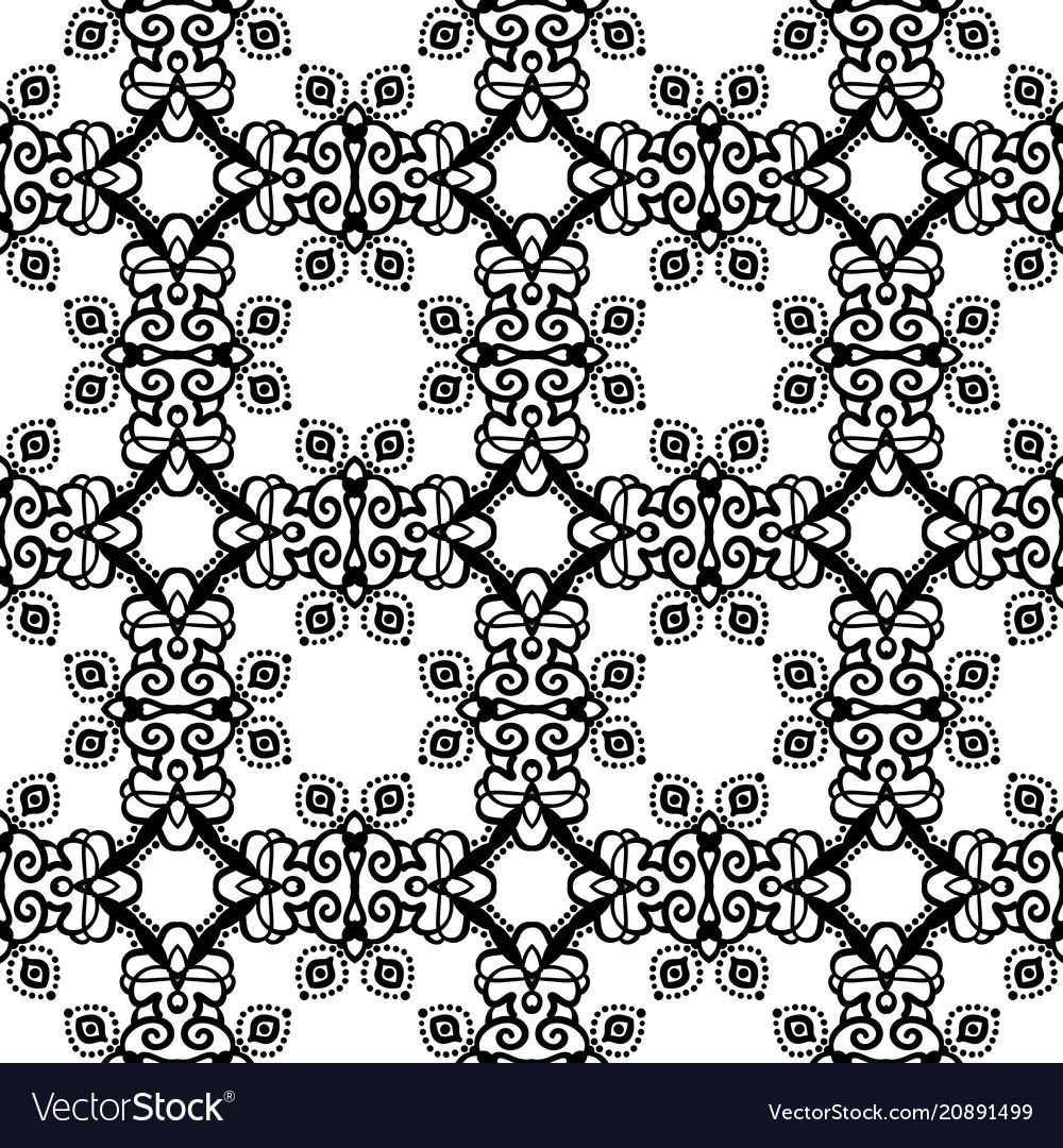 Intricate lace pattern background