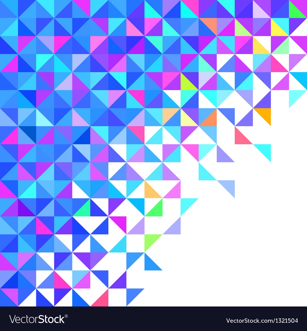 abstract geometric color background royalty free vector
