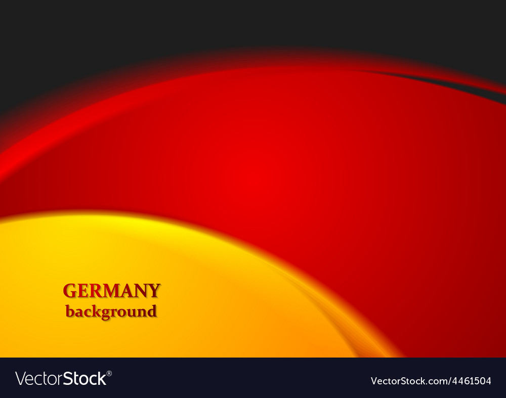Bright wavy abstract background German colors