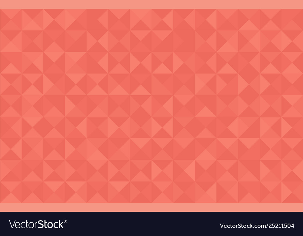 Coral trendy color 2019 abstract background