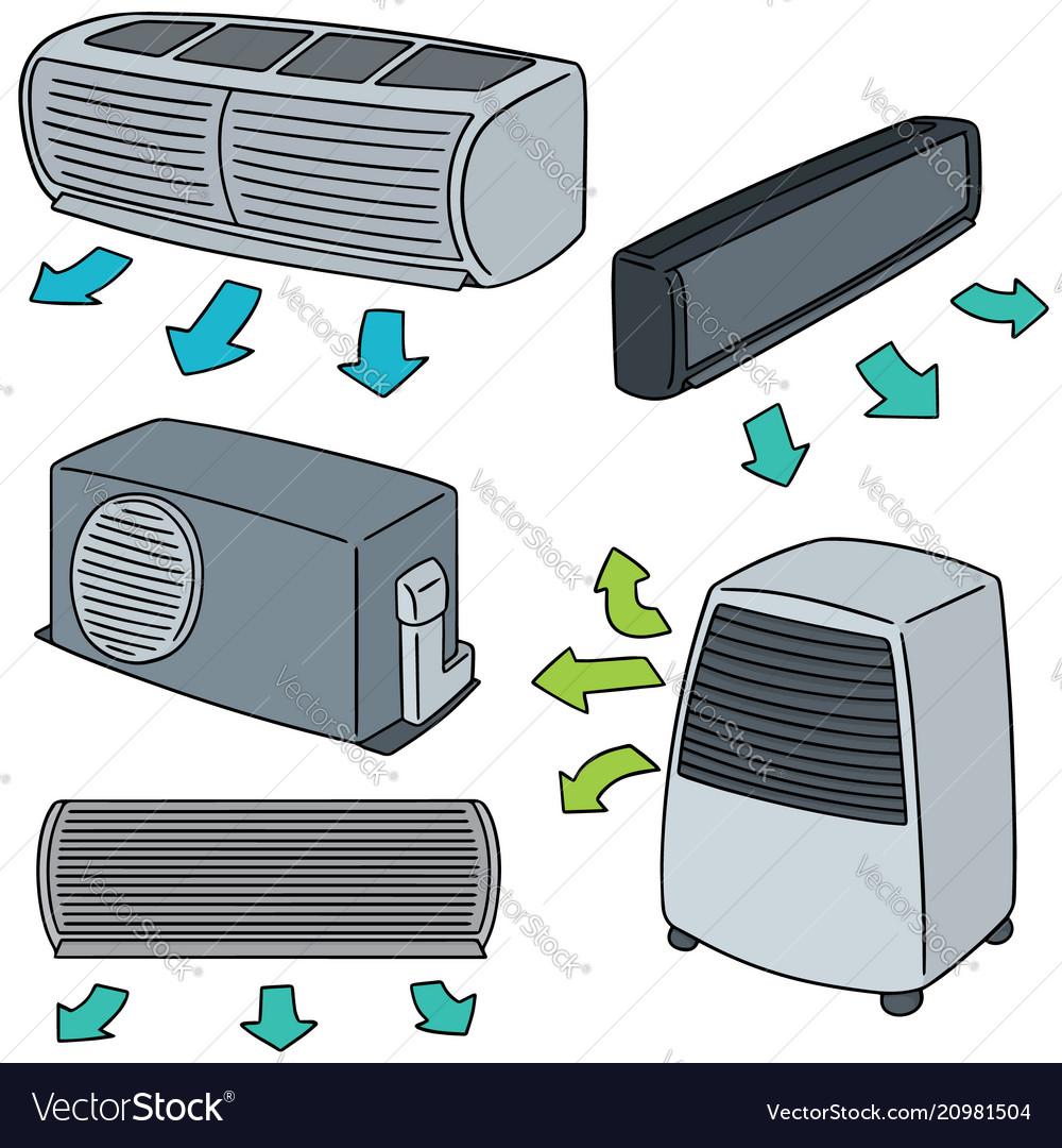 Set of air conditioner