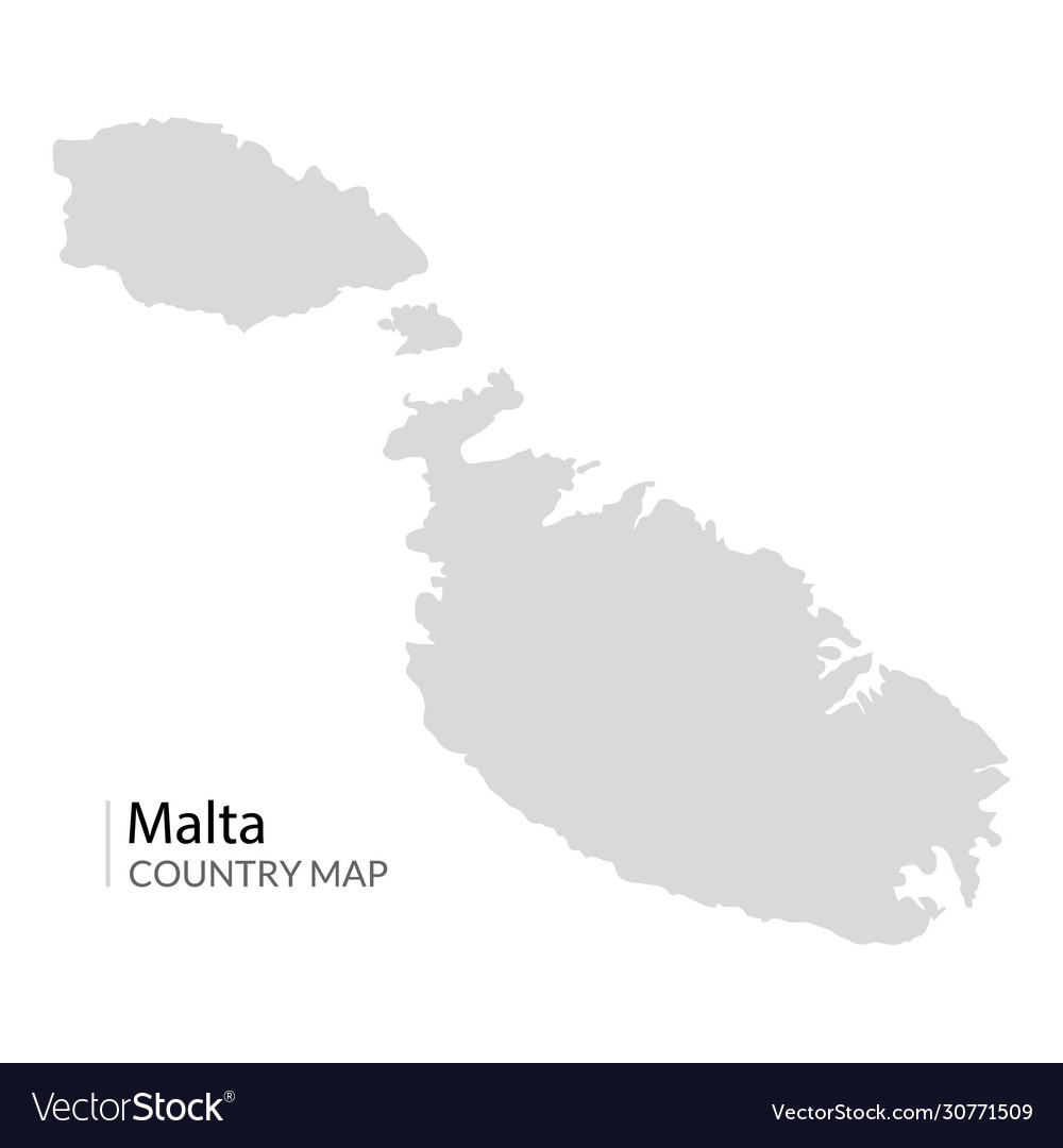 Picture of: Malta Island Map Maltese Royalty Free Vector Image